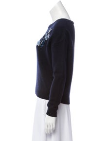 0cc631525b7 Christian Dior. Cashmere Embellished Sweater