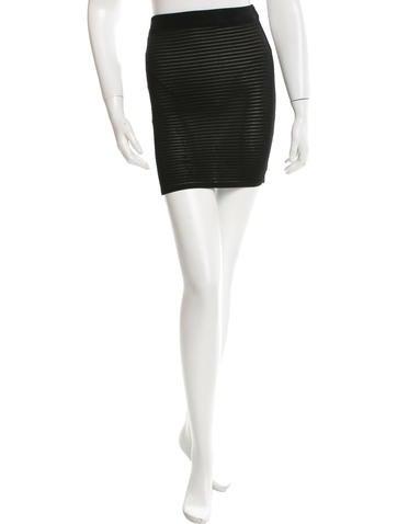Christian Lacroix Knit Mini Skirt