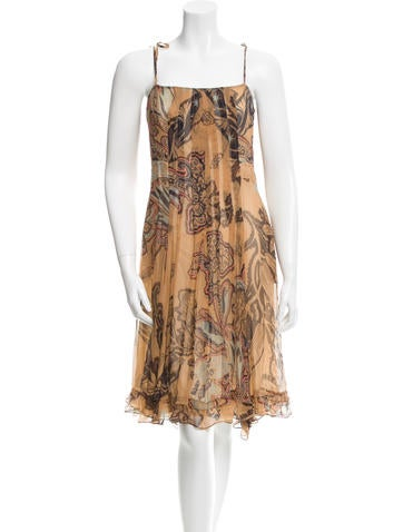 Christian Lacroix Silk Printed Dress None