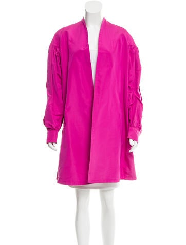 Christian Lacroix Silk Swing Jacket None