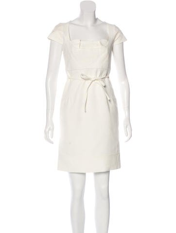 Christian Lacroix Wool & Silk Dress None