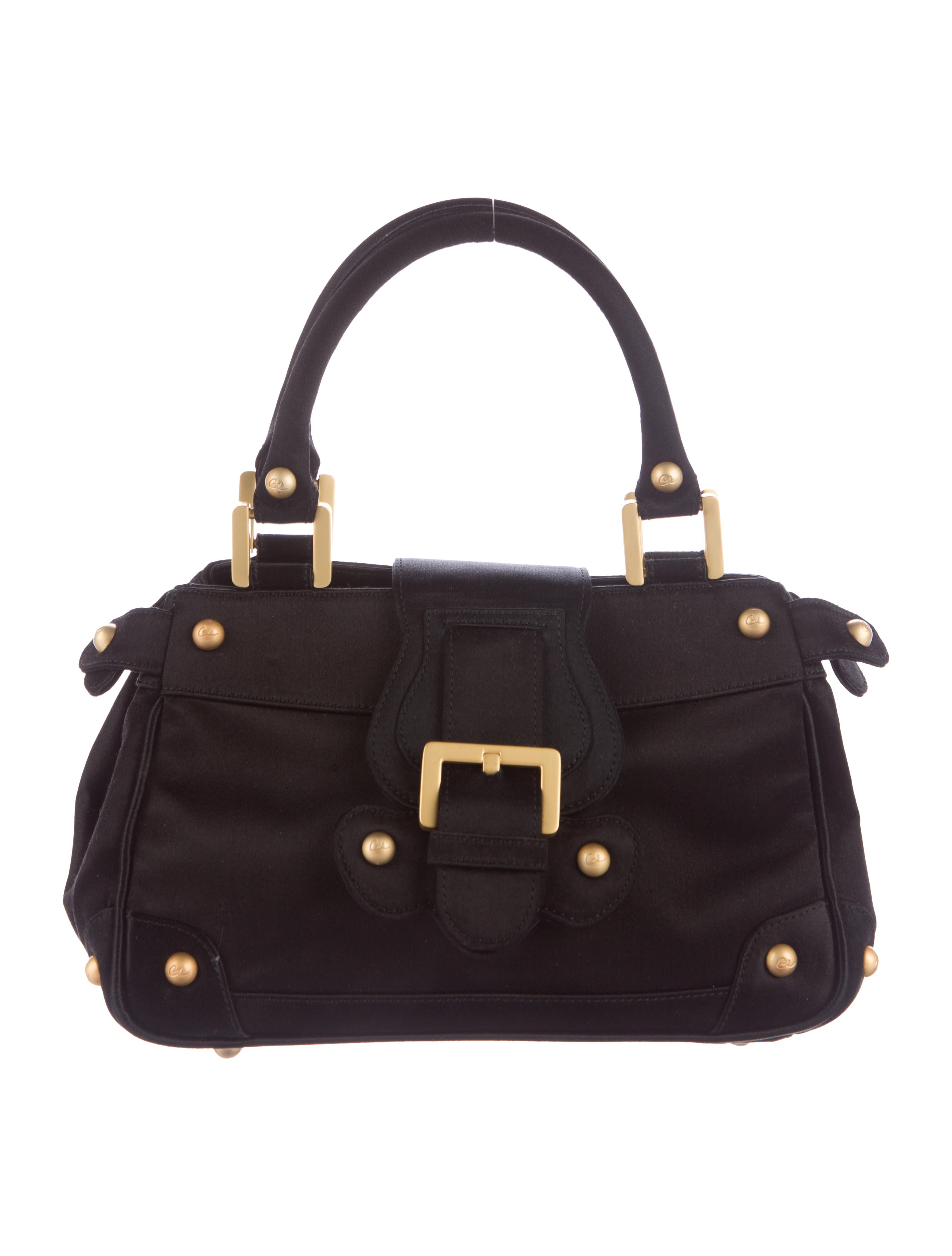 Christian Lacroix Satin Handle Bag Handbags Chs22347