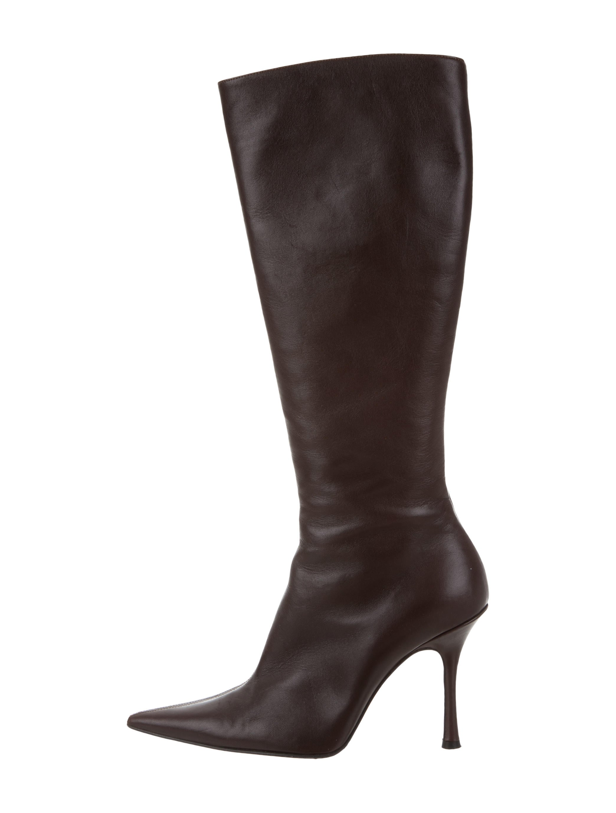 outlet pre order 2014 newest for sale Christian Lacroix Leather Knee-High Boots outlet many kinds of cheap discount sale KeSZ8LIS