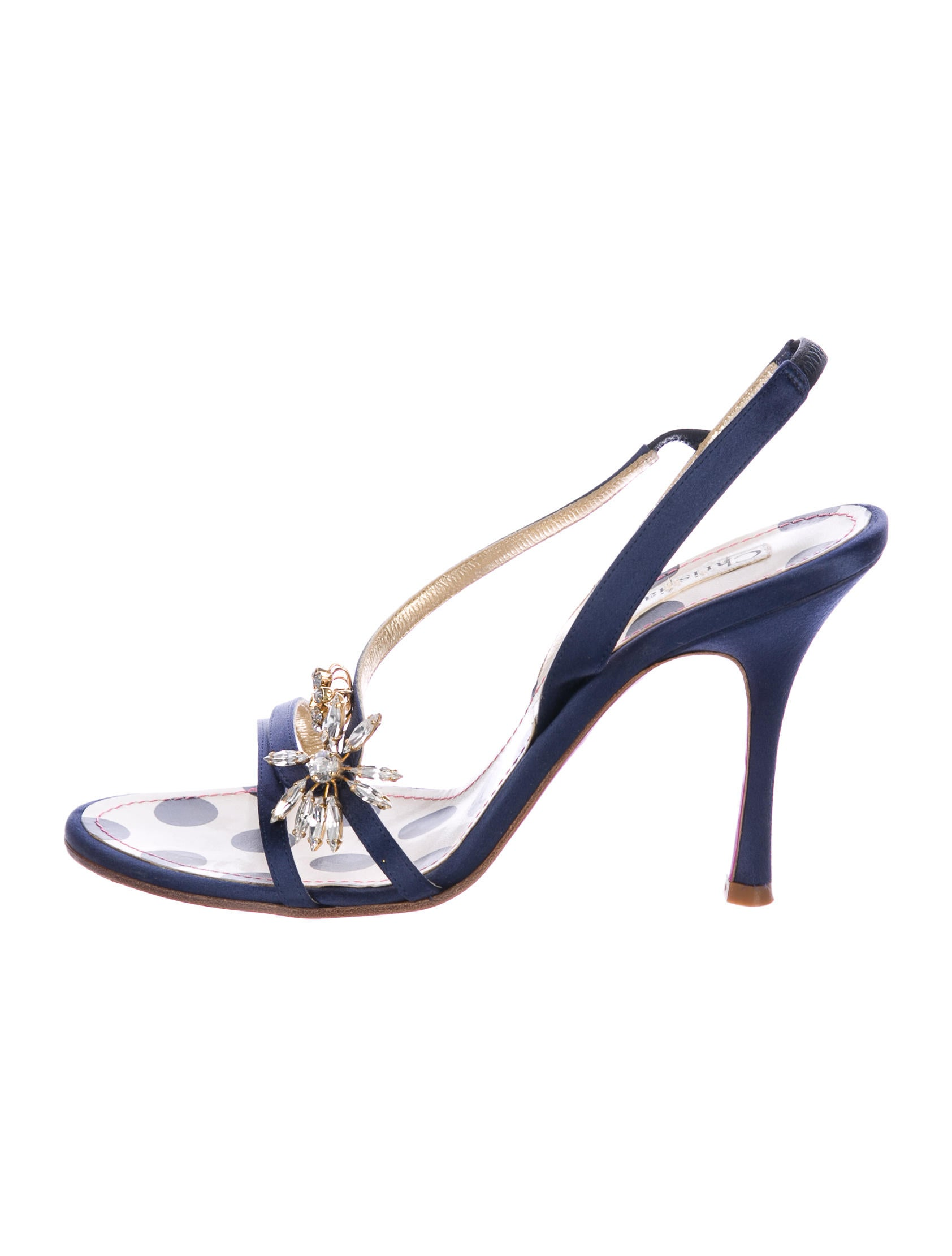free shipping great deals Christian Lacroix Embellished Satin Pumps ebay for sale 540wFH8HA3