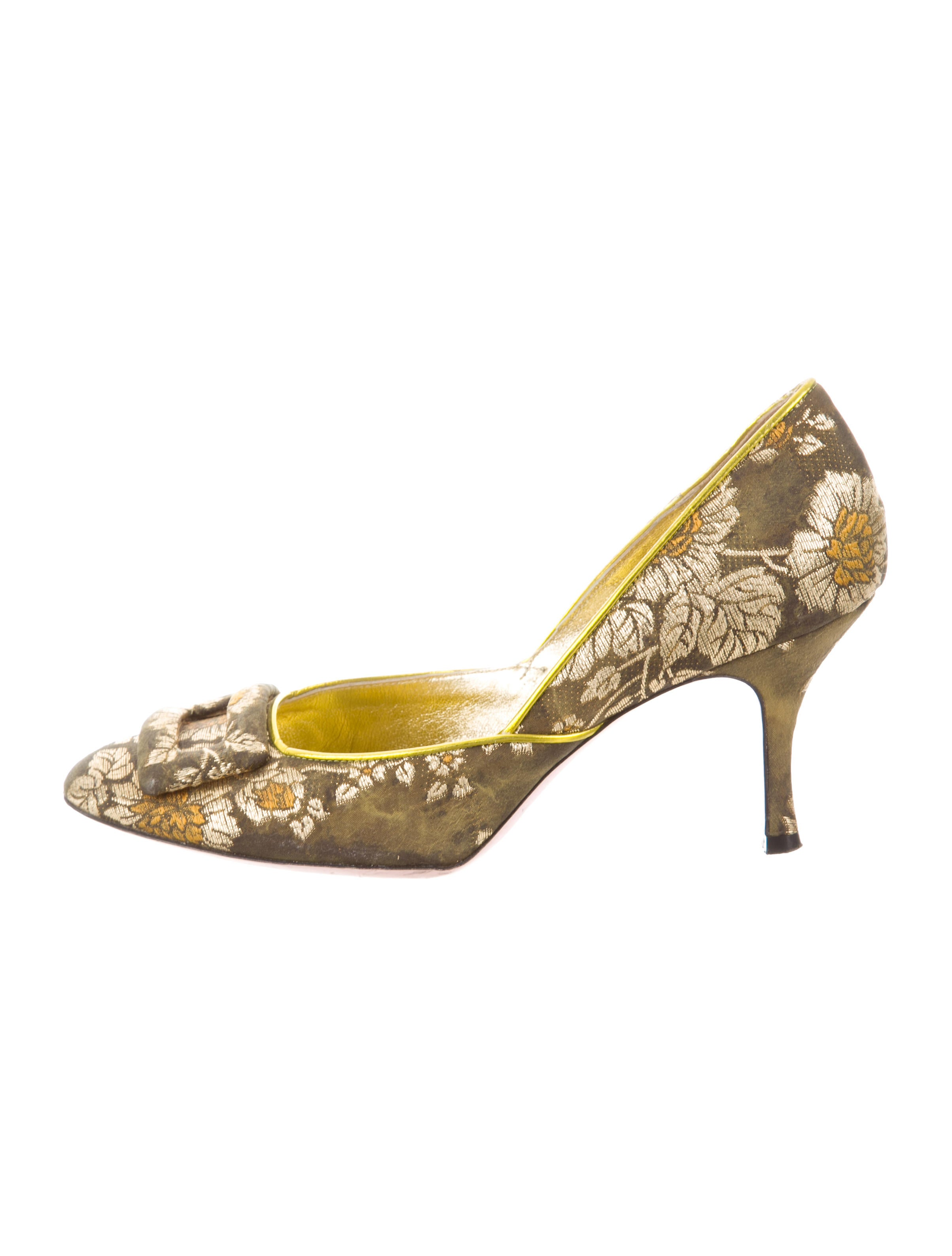 for cheap sale online Christian Lacroix Pointed-Toe Jacquard Pumps perfect fashionable online free shipping cheap online zOjTwB
