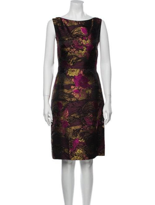 Christian Lacroix Printed Knee-Length Dress