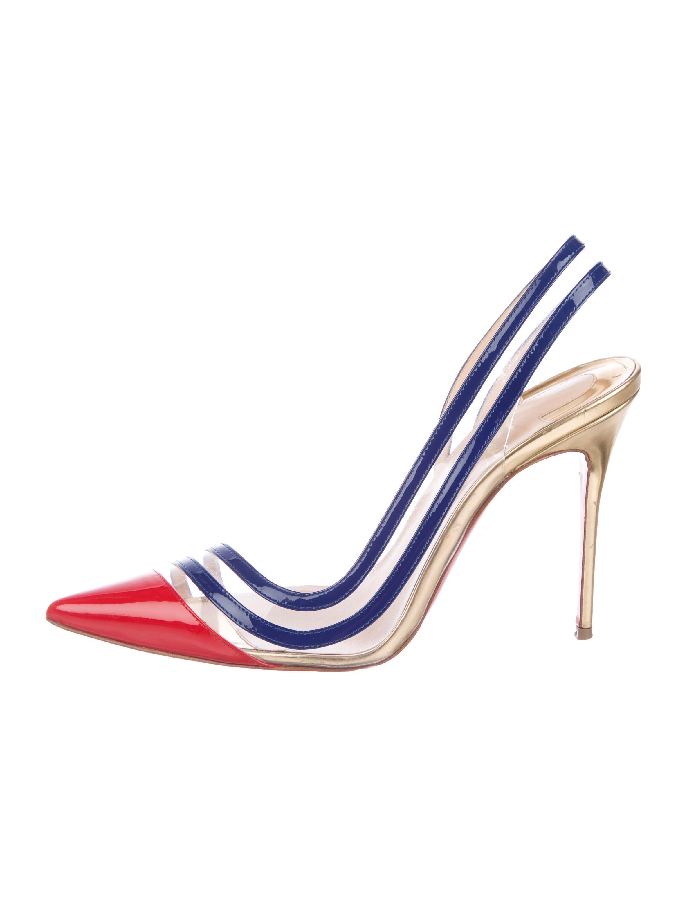 1d5b0b73dd Christian Louboutin Paralili PVC 100 Pumps - Shoes - CHT100972 | The  RealReal