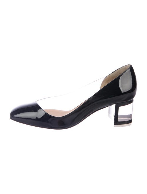03662036d57 Christian Louboutin Provisore 55 Patent Leather PVC Pumps - Shoes ...