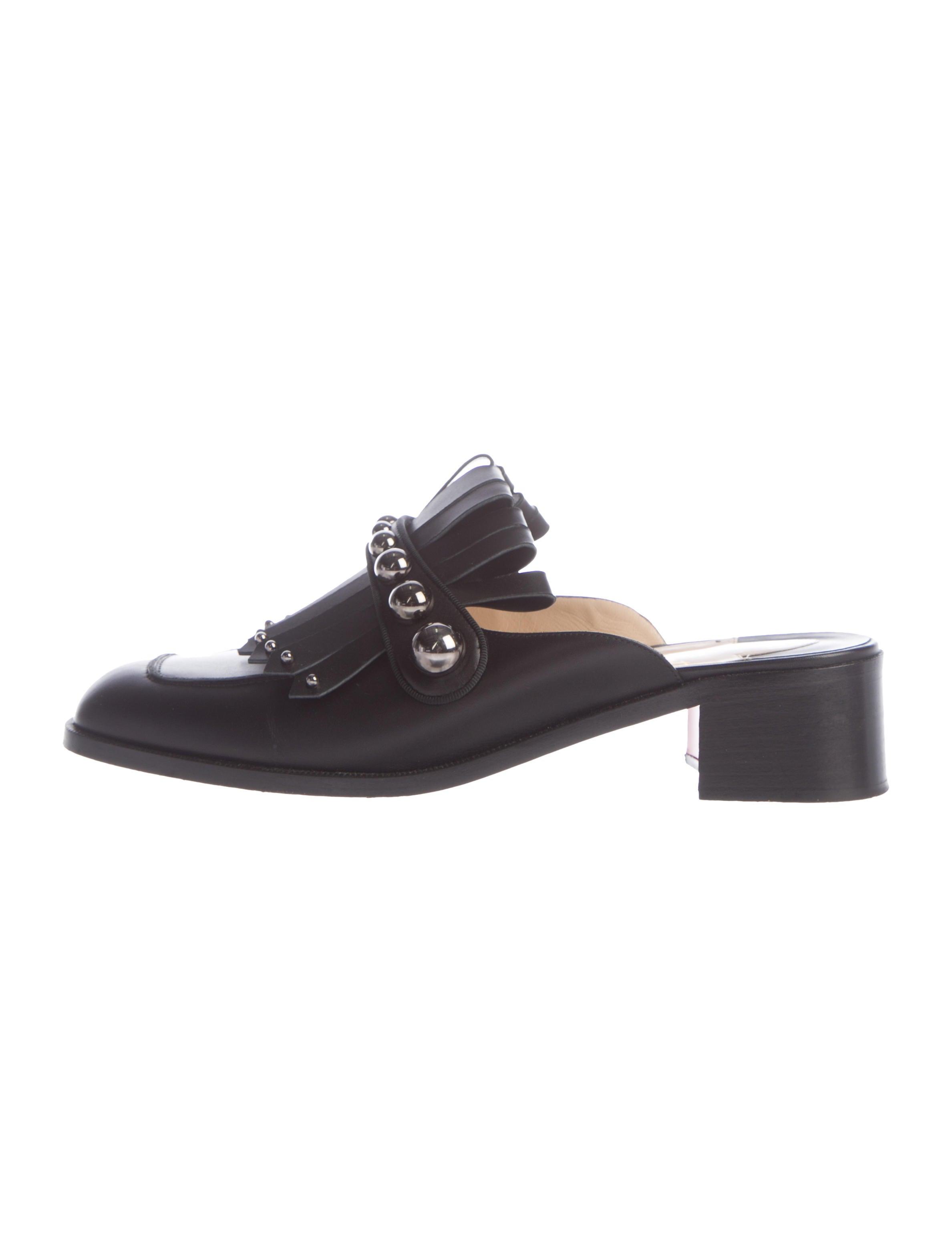 8f566c5b1c81 Christian Louboutin 2018 Octavian Mula Studded Mules - Shoes ...