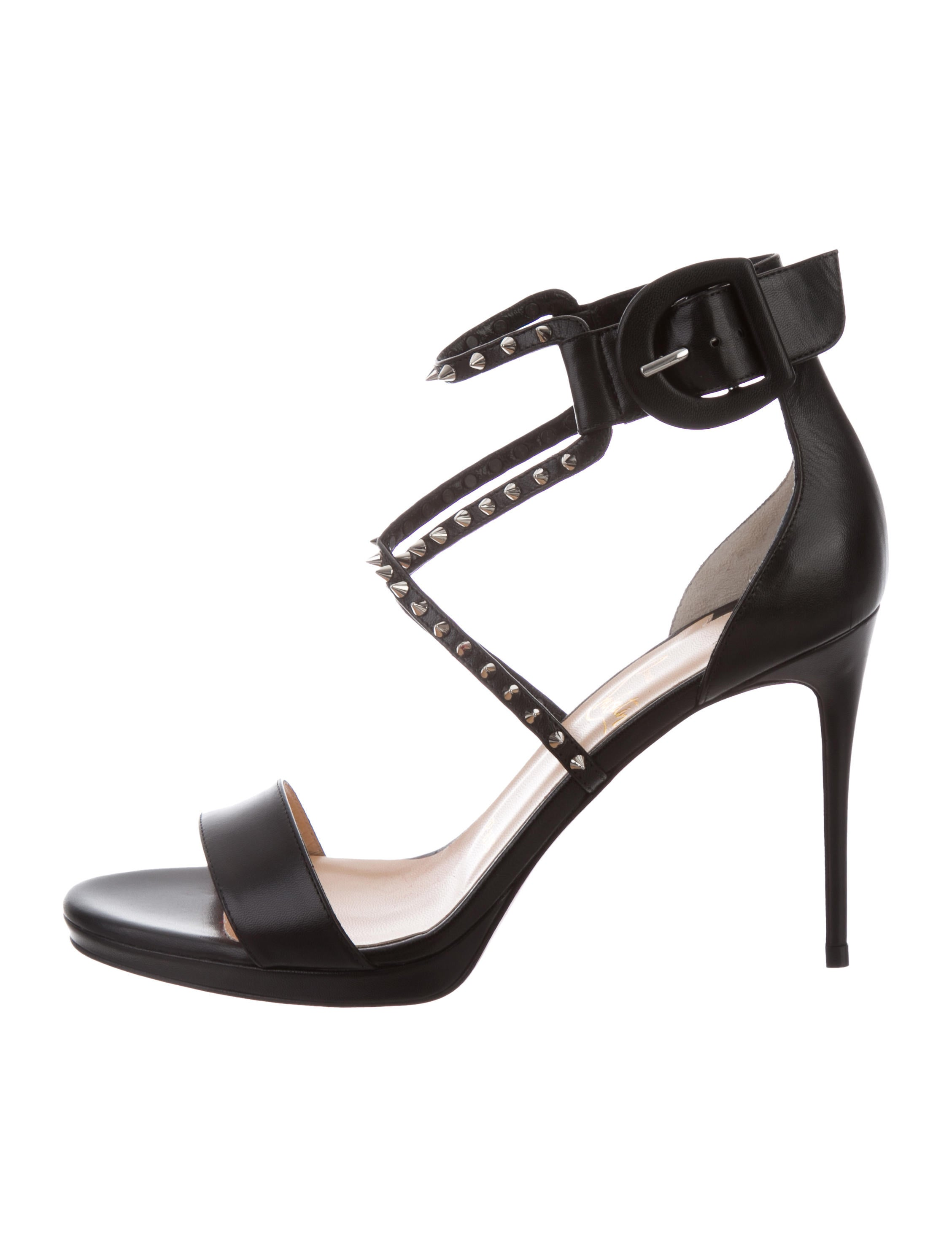 5f3157abd62 Choca Lux Studded Sandals