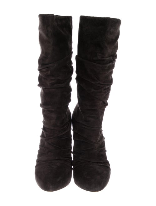 8de12efe62c Christian Louboutin Piros Suede Boots - Shoes - CHT103306 | The RealReal