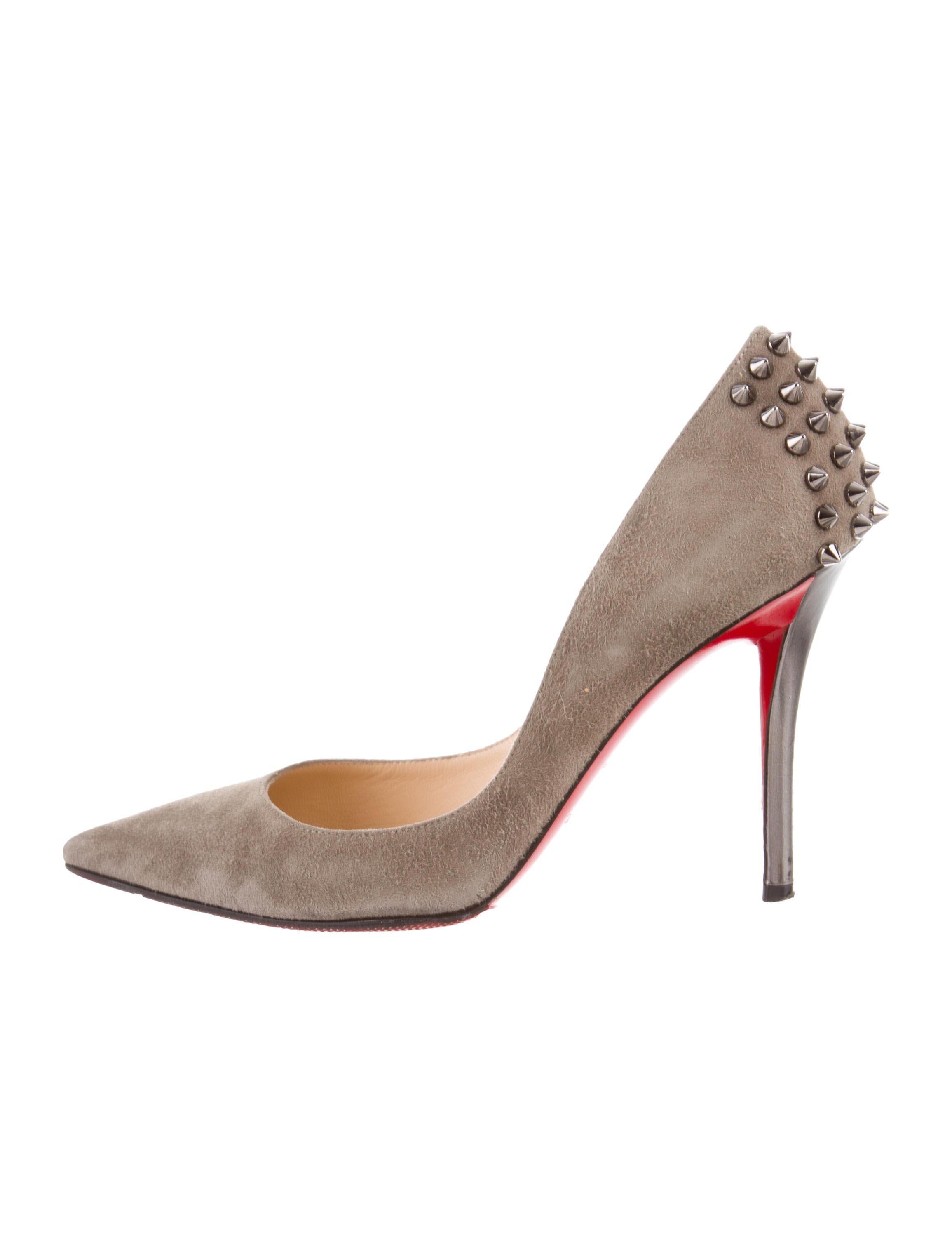 size 40 29074 6a39b Christian Louboutin Karistrap Leather Ankle Boots - Shoes ...