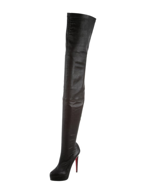 buy popular 02e07 05ea8 Christian Louboutin Monicarina Over-The-Knee Leather ...