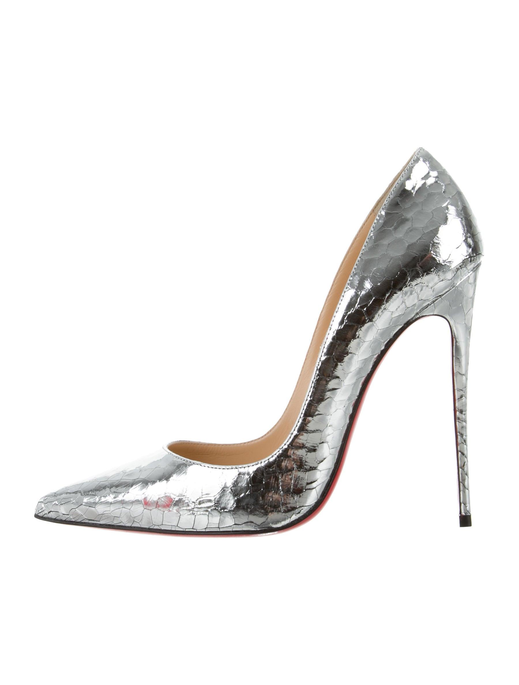 d5ce687775d Christian Louboutin So Kate 120 Specchio Martele Pumps - Shoes ...