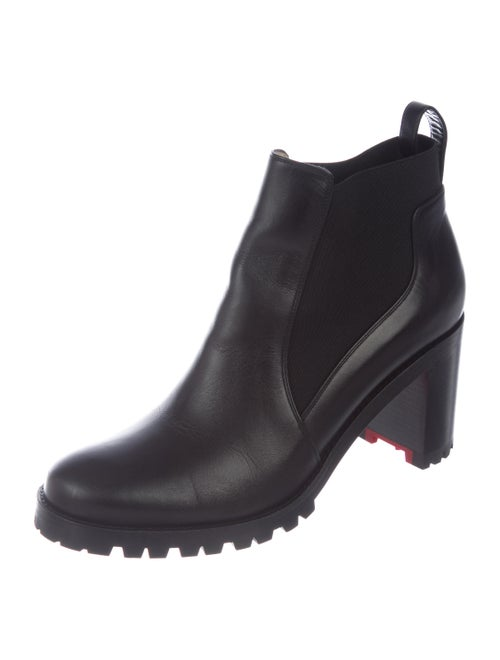 d17a83ddc8b Christian Louboutin Marchacroche 70 Leather Boots - Shoes ...