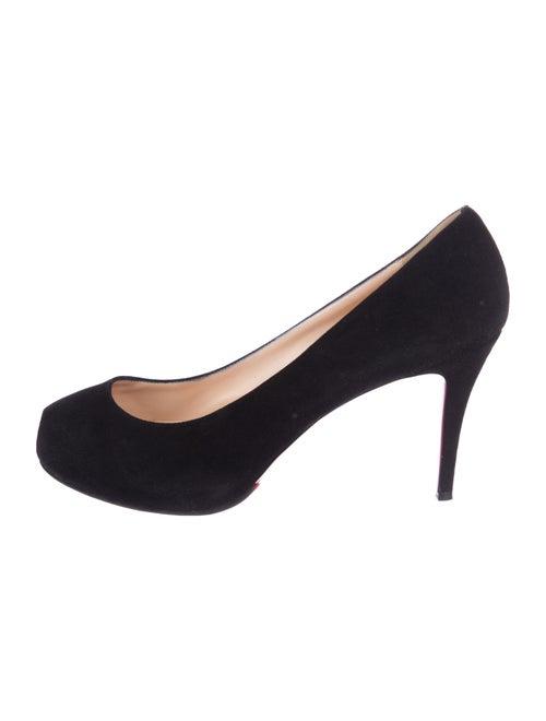 Christian Louboutin Mid-Heel Peep-Toe Pumps - Shoes - CHT108497 ... c9b992d2a920