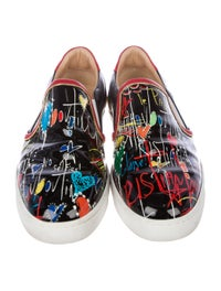 finest selection 9390f 2b1a0 Christian Louboutin Masteralta Flat Slip-On Sneakers - Shoes ...