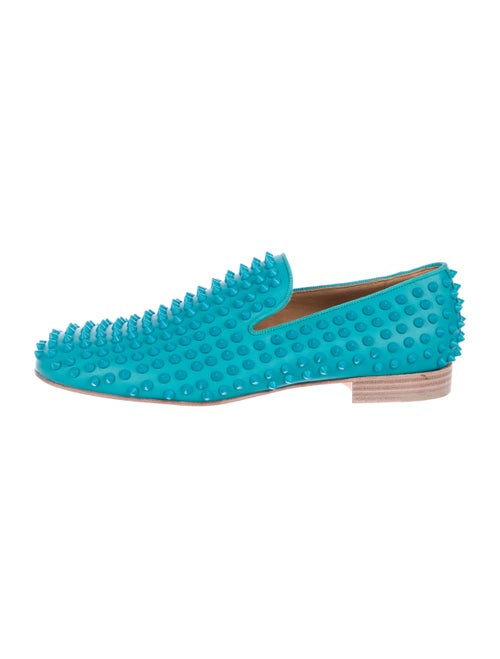 ee66e2295de2 Christian Louboutin Rollerboy Spikes Leather Loafers - Shoes ...