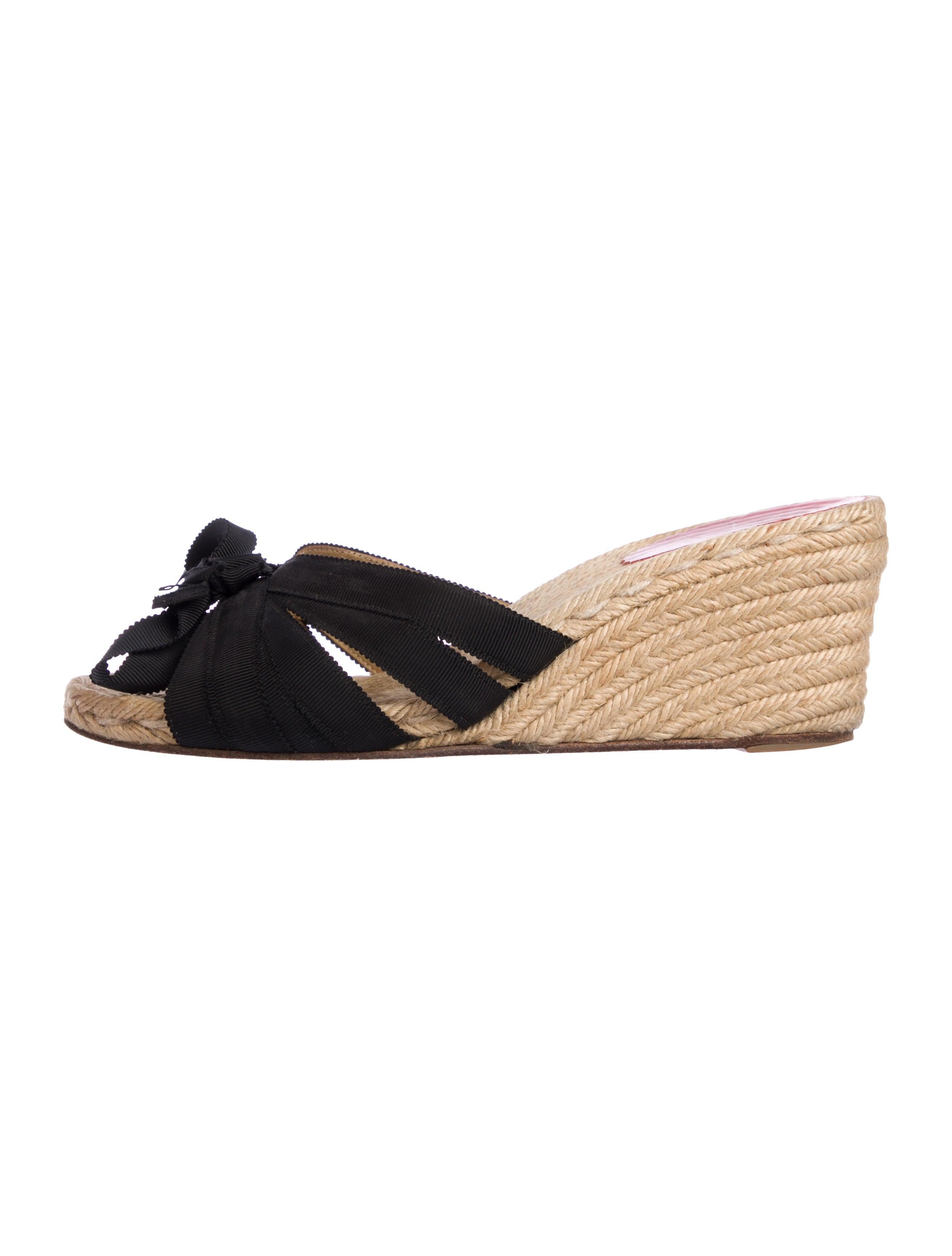 e9f888d117c Christian Louboutin Espadrille Slide Wedges - Shoes - CHT111005 ...