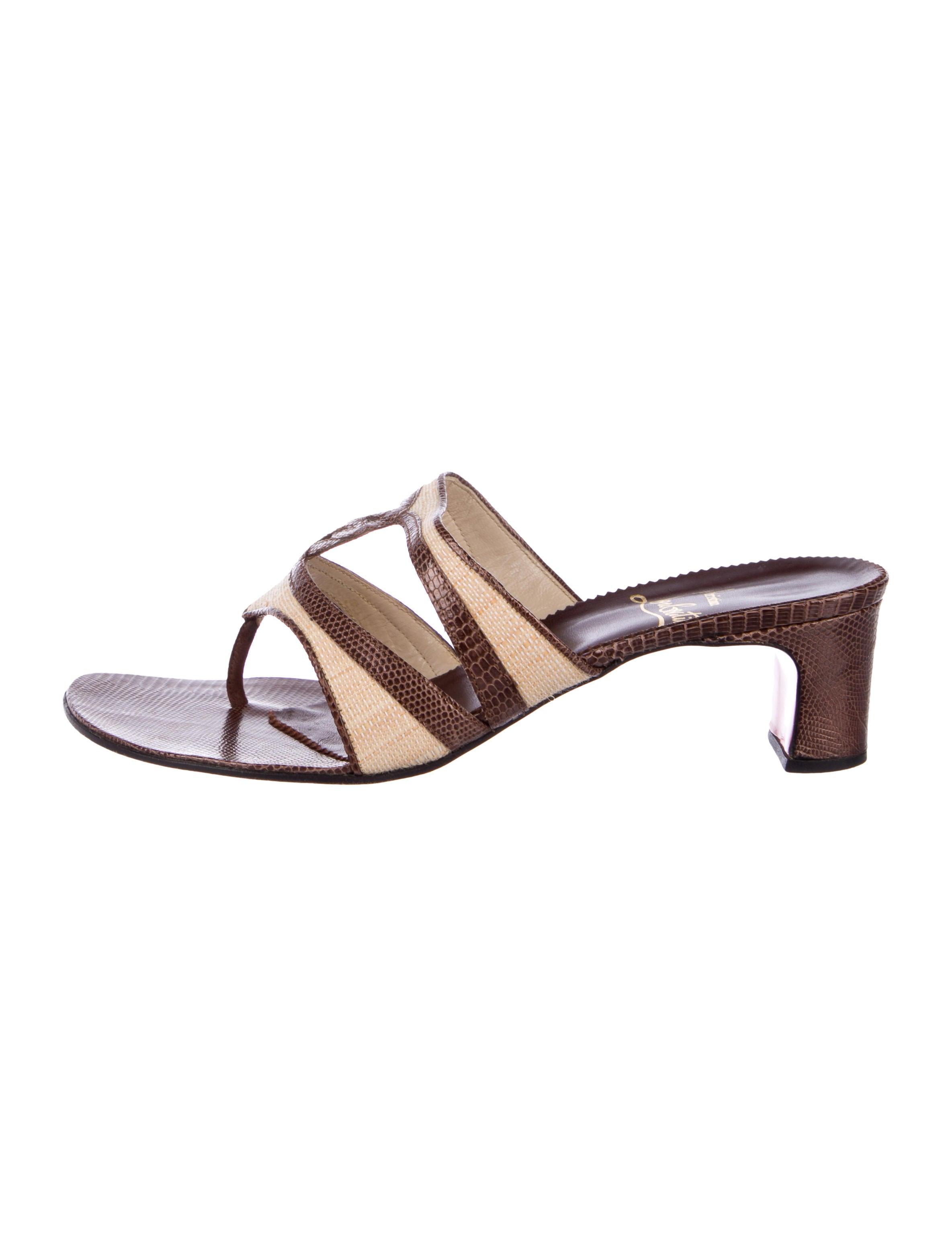 Shoes Christian Louboutin Cht111384the Lizard Nwn0opk8x Sandals Thong 6Y7vbgyf