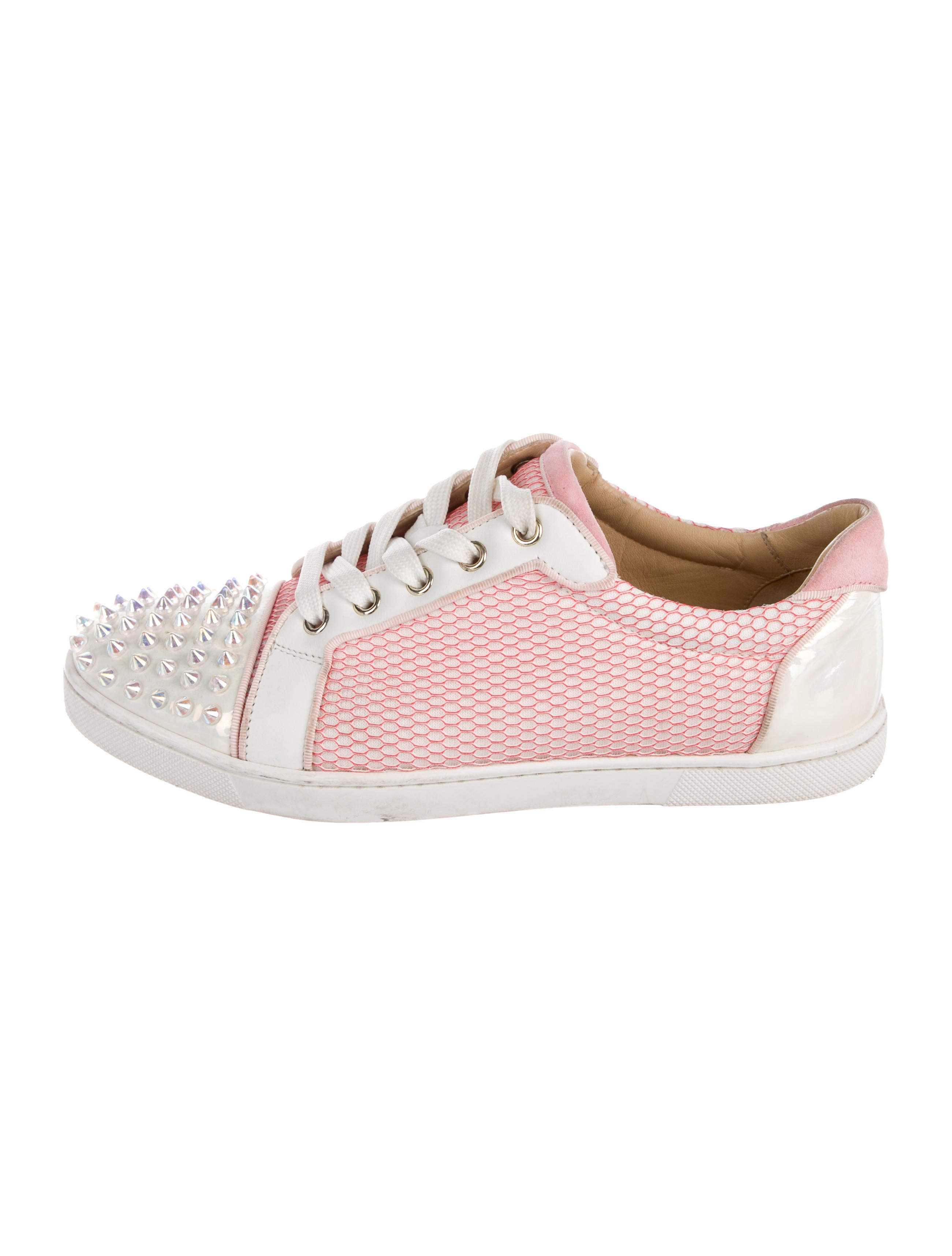 dd34c409bb5 Christian Louboutin Gondolita Spike Sneakers - Shoes - CHT111527 ...