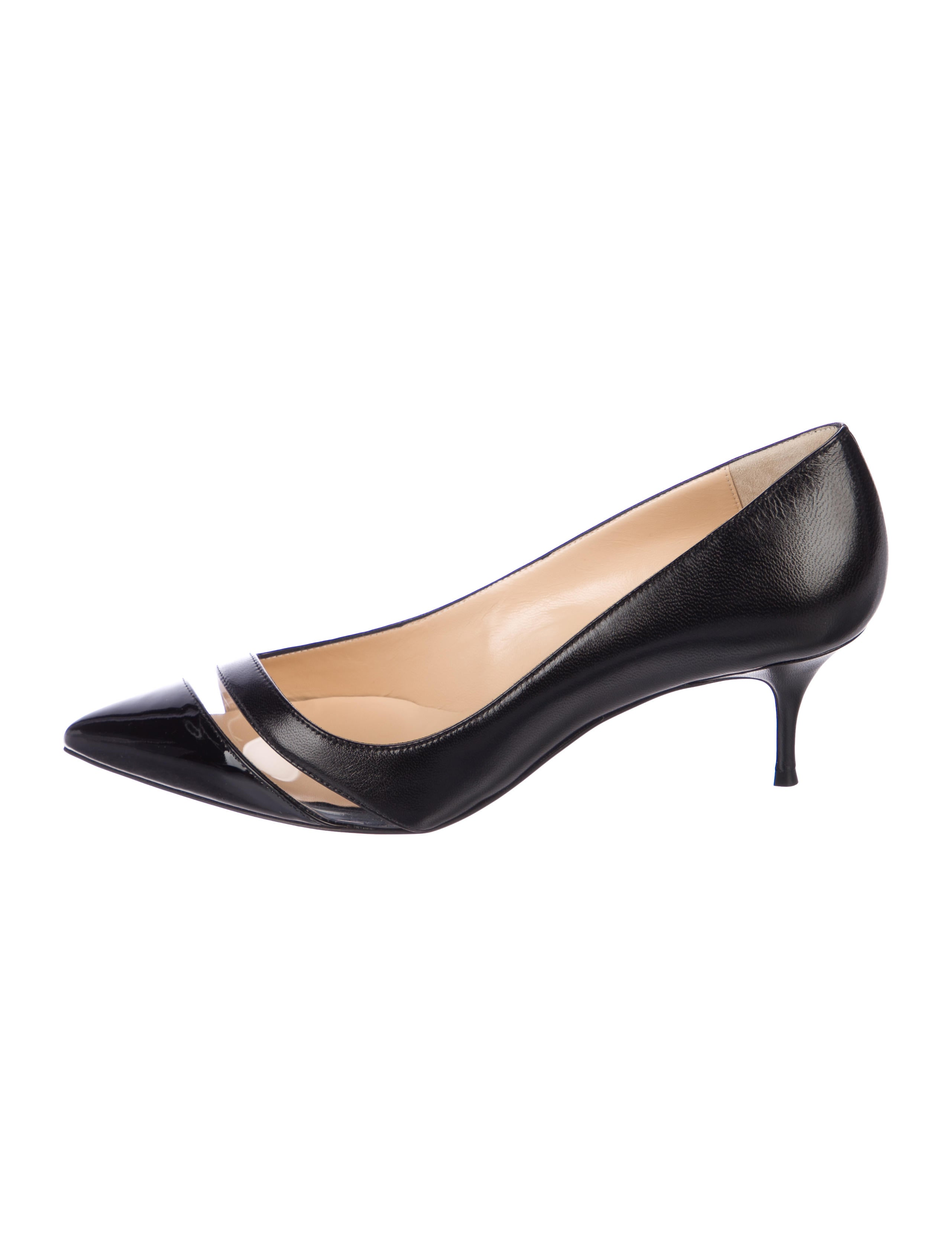 new product 48402 753be 17th Floor 55 Leather Pumps w/ Tags