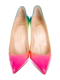 online store 609ca 9535f Christian Louboutin Rainbow Pigalle Follies Pumps - Shoes ...