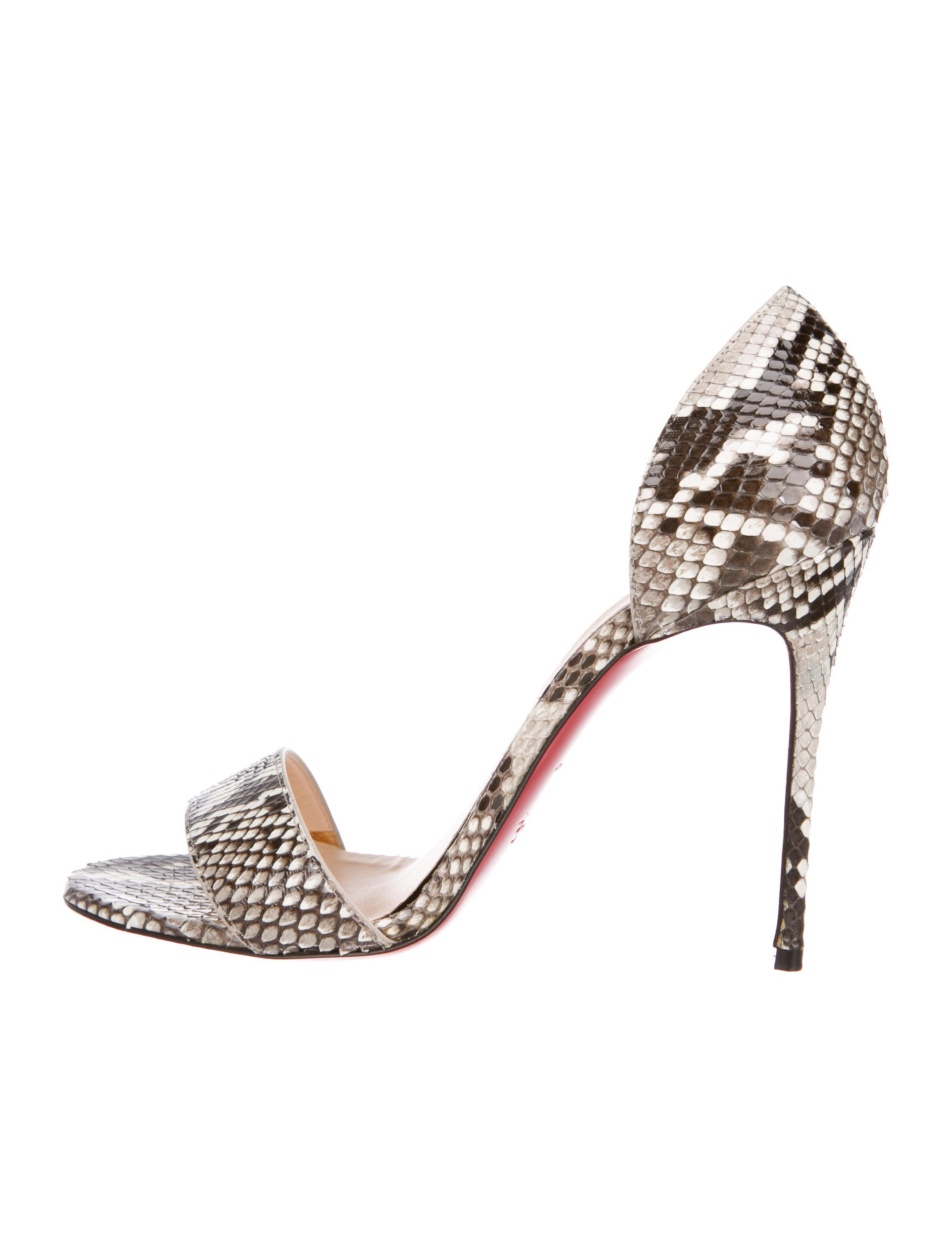 Python Sandals by Christian Louboutin