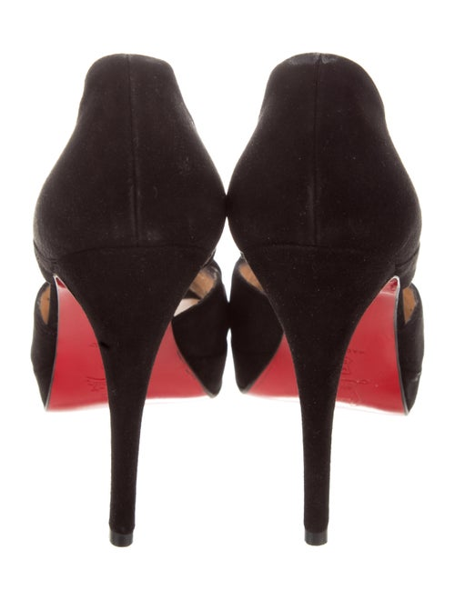 watch 55651 b810a Christian Louboutin Marlenalta Suede Pumps - Shoes ...