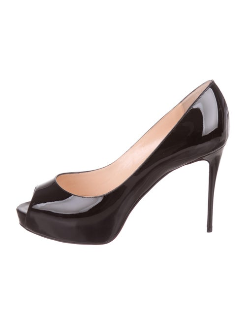 low priced a8261 1f20d Christian Louboutin New Very Prive 100 Patent Leather Pumps ...