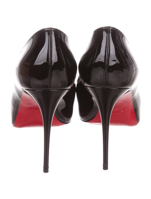 low priced 9fe11 f5dfe Christian Louboutin New Very Prive 100 Patent Leather Pumps ...