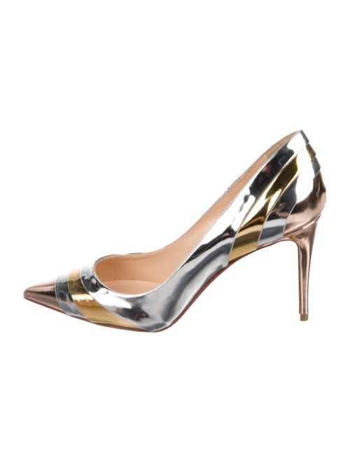 5acd93347d94 Christian Louboutin Eklectica 85 Pointed-Toe Pumps - Shoes ...