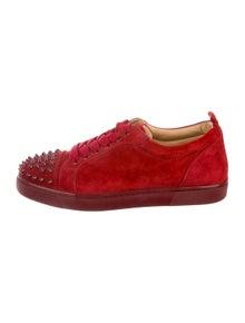 085768806639 Christian Louboutin. Louis Junior Spikes Sneakers