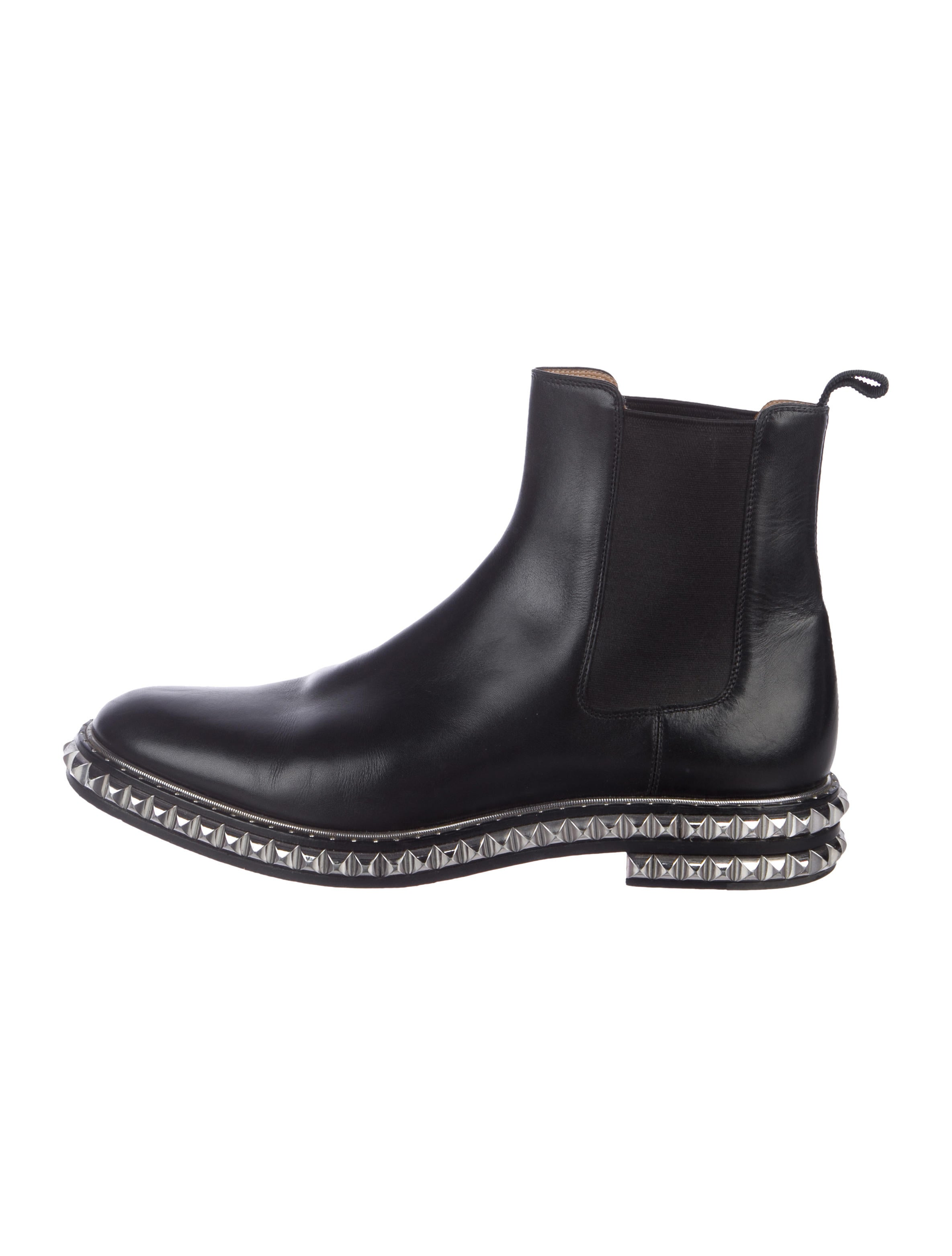 ac5c9c913b1c Christian Louboutin Leather Chelsea Boots - Shoes - CHT121633