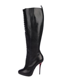 485bf1c76f3a Christian Louboutin. Lamadone 120 Leather Boots