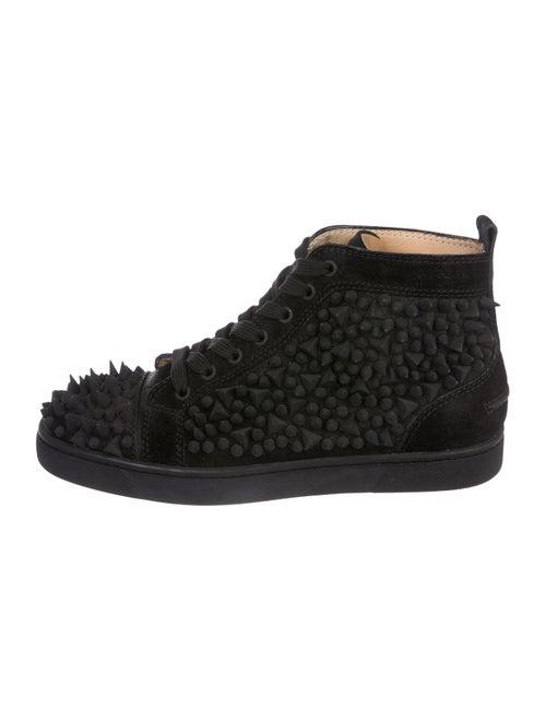 5947dfd4b955 Christian Louboutin Louis Flat Crosta Spike Sneakers - Shoes ...