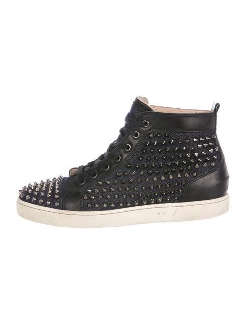 Christian Louboutin Louis Flat Jean Spikes Sneakers - Shoes ...