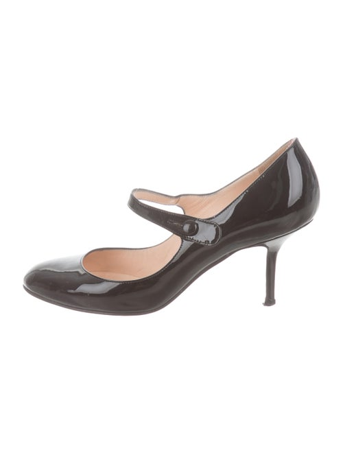 26719554425b Christian Louboutin Round-Toe Mary Jane Pumps - Shoes - CHT123974 ...