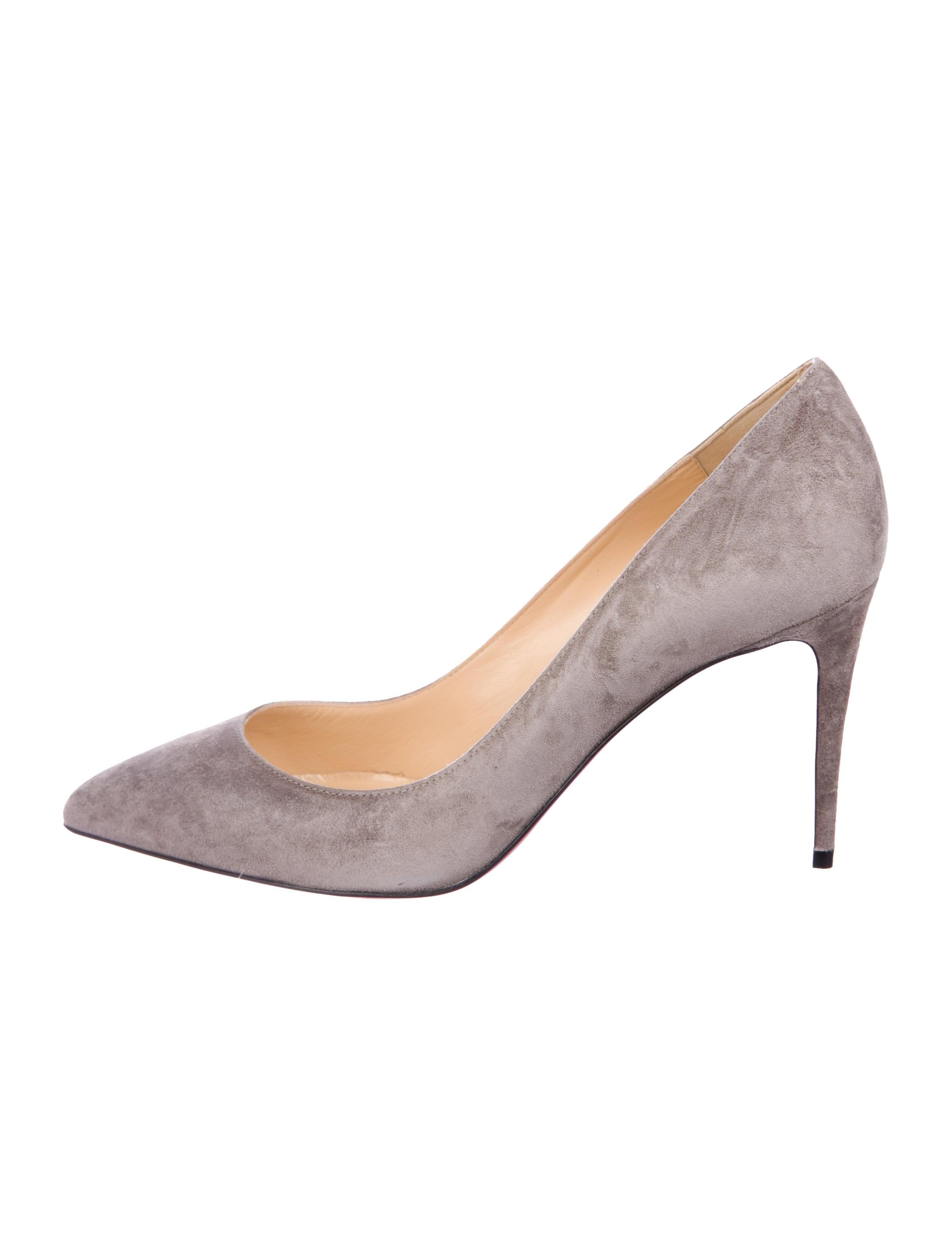 02ddca8bcf48 Christian Louboutin Pigalle Follies 85 Suede Pumps w  Tags - Shoes ...