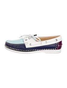 910759afb6f2 Christian Louboutin. Steckel Flat Boat Shoes