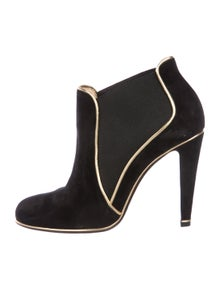 332ff061b662b Christian Louboutin. Suede Ankle Boots