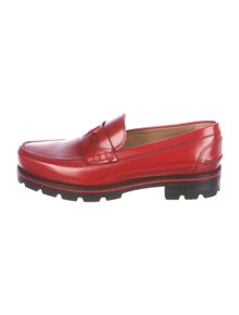 d549f83f026 Christian Louboutin. Habsbour Tibour Leather Loafers