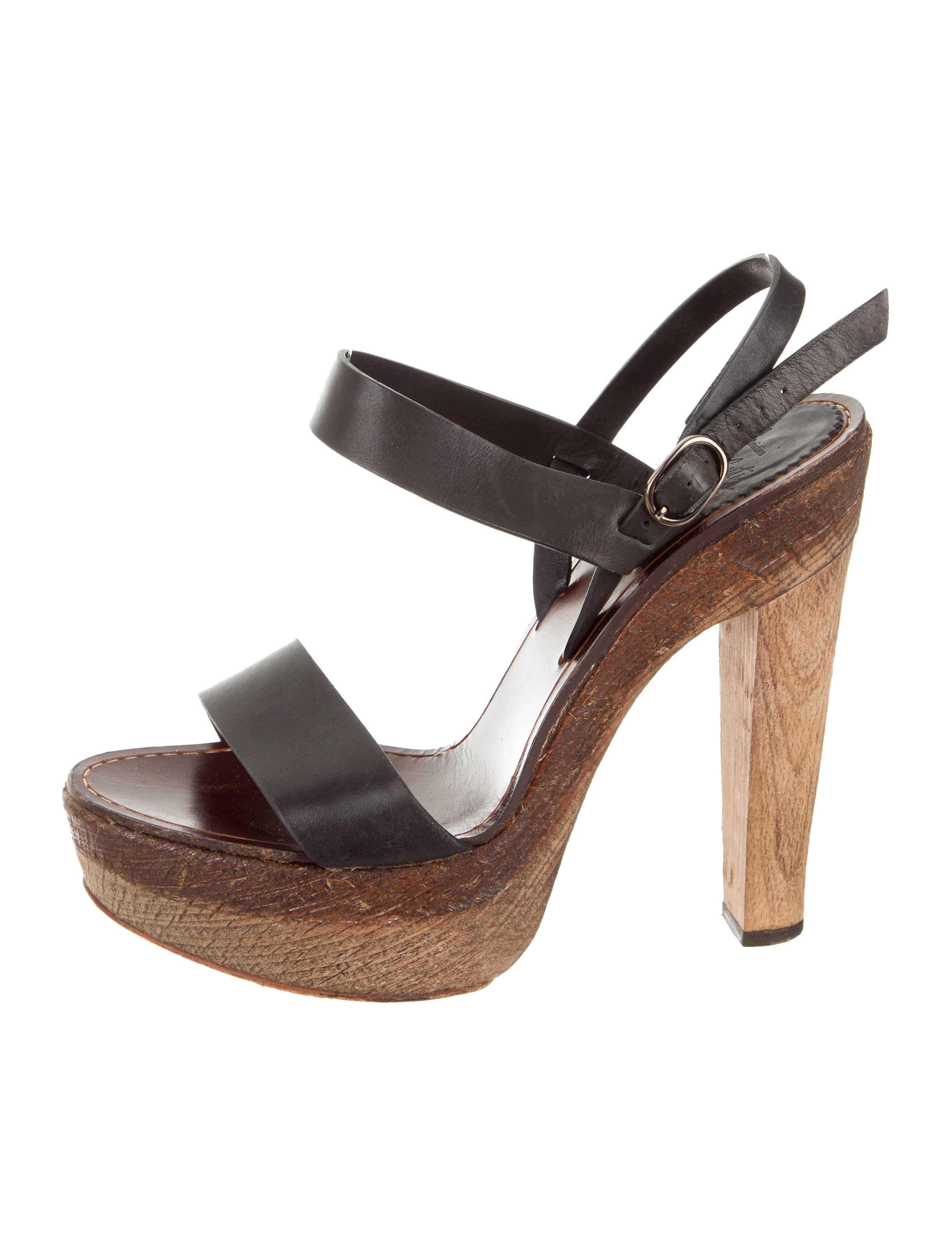 ece88151645 Christian Louboutin Platform Ankle Strap Sandals - Shoes - CHT125424 ...