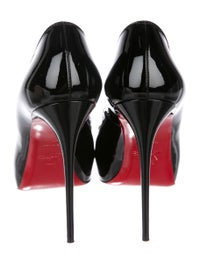 low cost a0cc5 b1f93 Christian Louboutin New Very Prive 120 Patent Leather Pumps ...