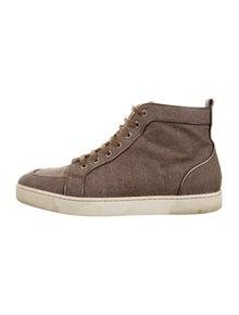 15d94c4ee605 Christian Louboutin. Rantus Orlato Flat Sneakers. Size  US 9.5