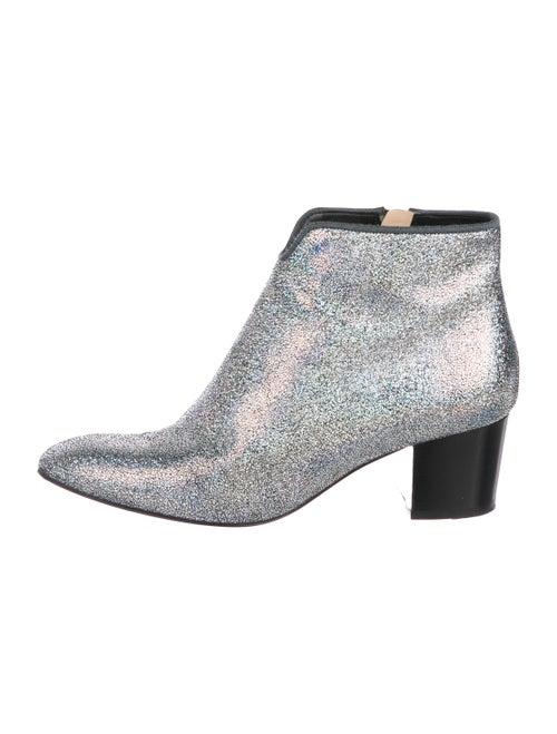 75db45505fba Christian Louboutin Disco 70s Metallic Boots - Shoes - CHT131416 ...