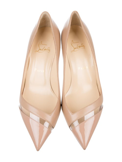 new concept 0f089 b221b Christian Louboutin 17th Floor 55 Leather Pumps - Shoes ...