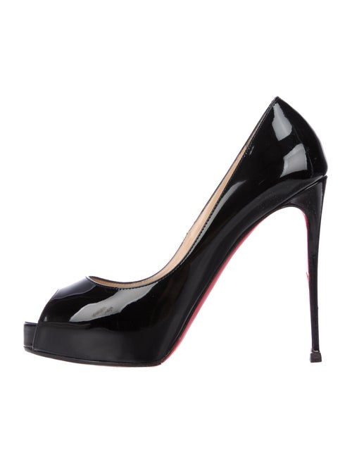 3092b3a1385f06 Christian Louboutin New Very Prive 120 Patent Leather Pumps - Shoes ...