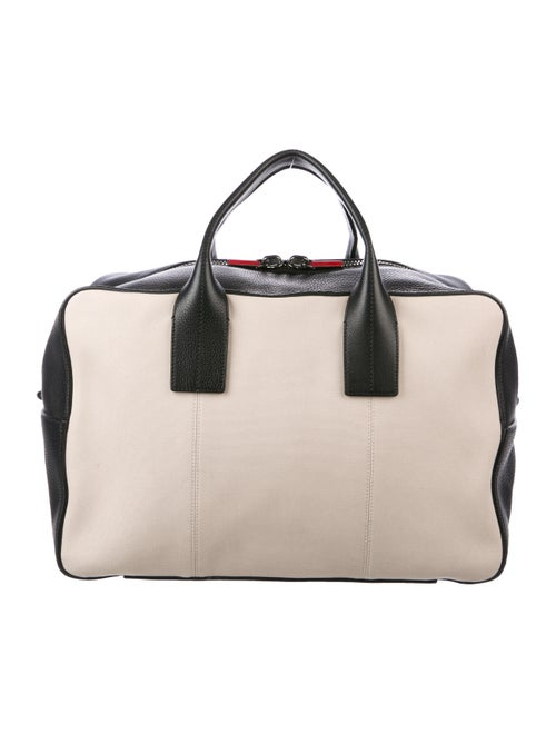 a99d05bf6d6 Christian Louboutin Leather Fredo Weekender - Luggage - CHT133645 ...