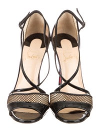 brand new 1f6fb f57c2 Christian Louboutin Slikova Crossover Sandals - Shoes ...